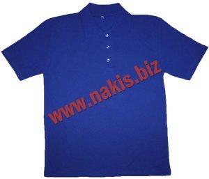 Polo yaka tişört mavi