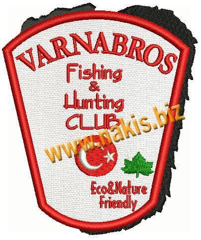 VarnaBros Nakış Arma patch